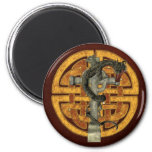 Dragon Cross Magnet