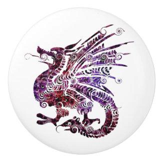 Dragon Custom Ceramic Pulls/Knobs Ceramic Knob