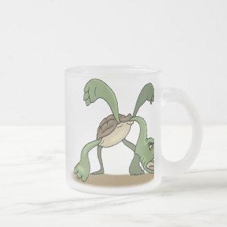 Dragon Design 27 Frosted Glass Mug