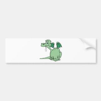 Dragon Design 5 Bumper Sticker
