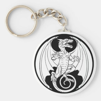 Dragon Design Keychain