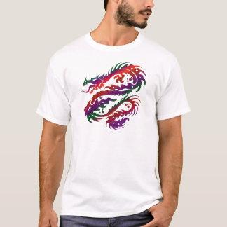 Dragon Design - Multi-Vibrant Color Art T-Shirt