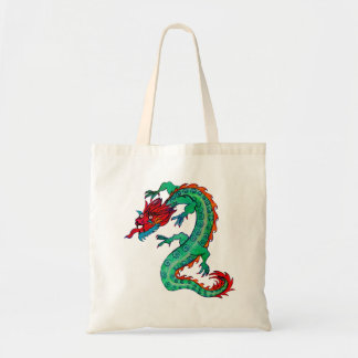 Dragon Design on Budget Tote Bag
