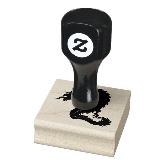 Dragon Design on Rubber Stamp
