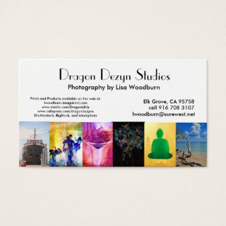 Dragon Dezyn Studios photo bus card