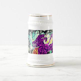 dragon diamond art beer stein
