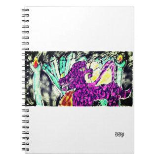 dragon diamond art notebook
