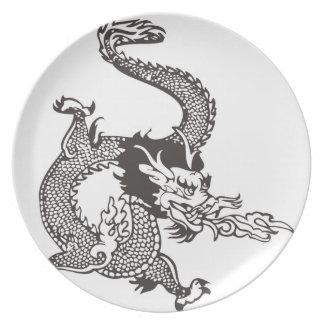 Dragon Dinner Plate