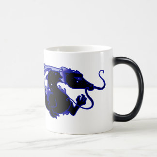 Dragon Dragon Black and Blue Magic Mug
