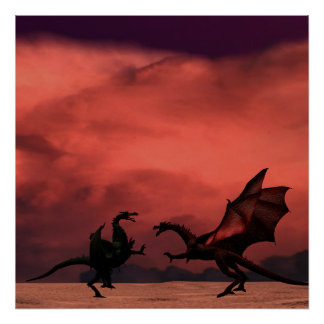 Dragon Duel Poster