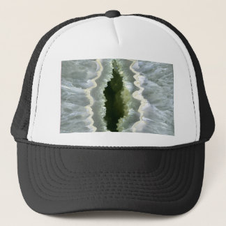 Dragon Eye Agate Druzy Trucker Hat
