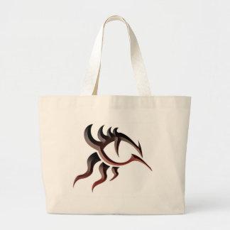 Dragon Eye Tat Large Tote Bag