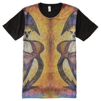 Dragon face All-Over-Print T-Shirt