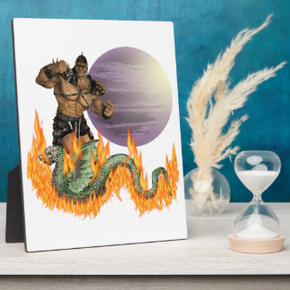 Dragon Fighter Plaque (3) sizes
