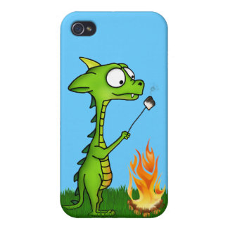 Dragon Fire iPhone 4 Cover