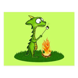 Dragon Fire Postcard