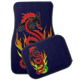 Dragon Flame Yin Yang Auto Mat