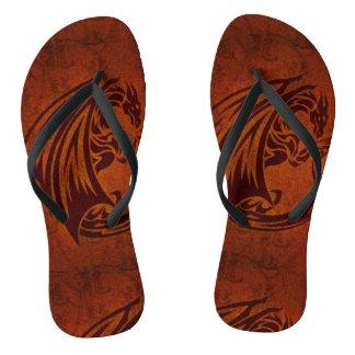 Dragon Flip Flops