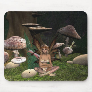 Dragon fly Fairy mousepad