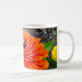 Dragon Fly on Flower Coffee Mug