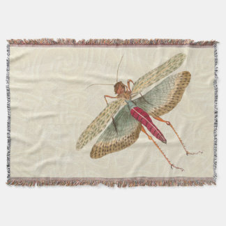 Dragon Fly Painting - Throw Blanket 1