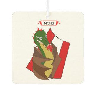 dragon from legend of Mons in Belgium Air Freshener