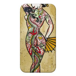 """Dragon Geisha"" Case For iPhone 4"