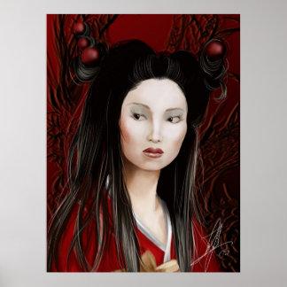 Dragon Geisha Poster
