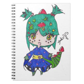 dragon girl edited notebooks