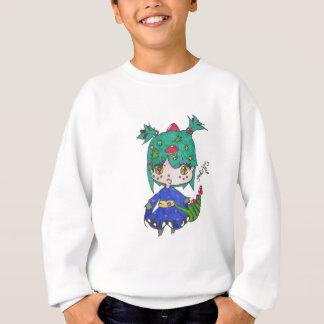 dragon girl edited sweatshirt