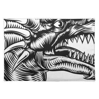 Dragon Head Design Placemat