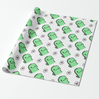 Dragon Heart Wrapping Paper