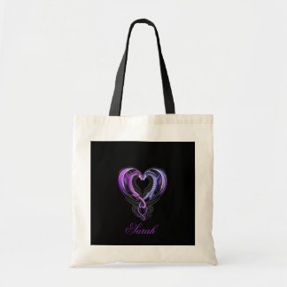 Dragon_Hearts_by_Sheblackdragon-1, Sarah Tote Bag