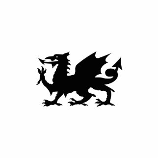 Dragon Heraldry Sculpture Acrylic Cut Out