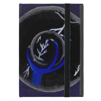 Dragon Holds Crystal Ball to see lightning Strike iPad Mini Case