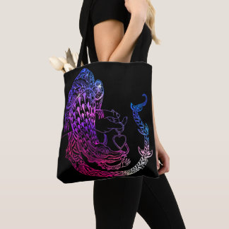 Dragon in love tote bag