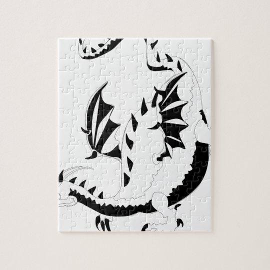 dragon jigsaw puzzle