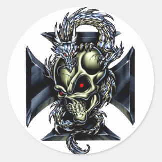 Dragon Keeper Classic Round Sticker