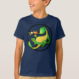Dragon - Kids dark T-shirt
