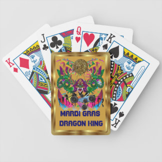 Dragon King Mardi Gras View notes please Bicycle Playing Cards