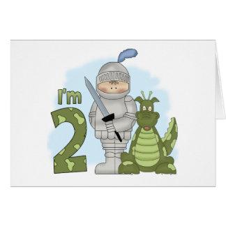 Dragon Knight 2nd Birthday Note Card