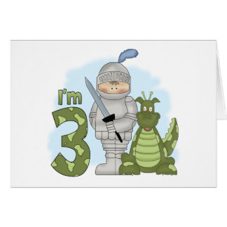 Dragon Knight 3rd Birthday Note Card