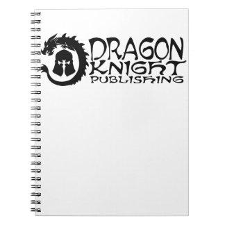 Dragon-Knight Publishing Logo Spiral Notebook