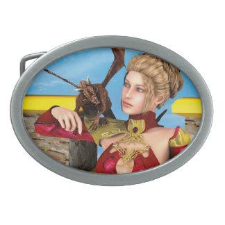 Dragon Lady Belt Buckle
