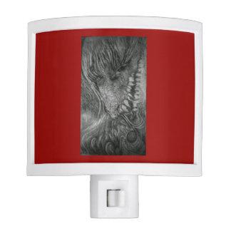 Dragon Lady fantasy art by cfw Nite Lights