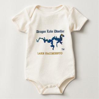Dragon Lake Dweller Lake Nacimiento Baby Bodysuit