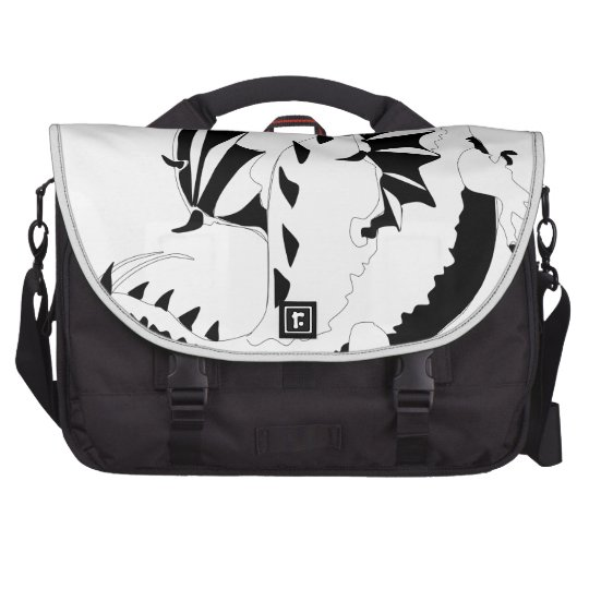 dragon laptop messenger bag