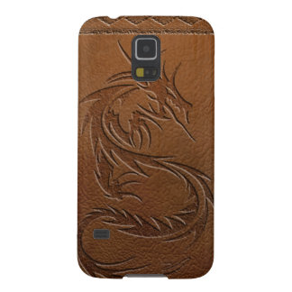 Dragon leather cases for galaxy s5