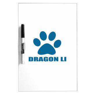 DRAGON LI CAT DESIGNS DRY ERASE BOARD