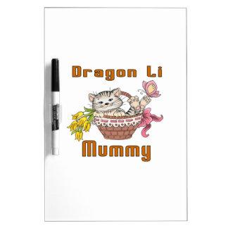 Dragon Li Cat Mom Dry Erase Board